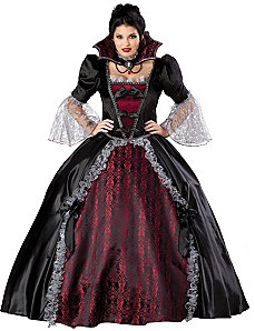 Vampiress Of Versailles Plus Adult Costume by In Character Costumes