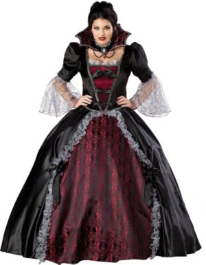 Vampiress Of Versailles Plus Adult Costume