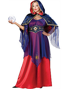 Mystical Sorceress Plus Adult Costume by In Character Costumes