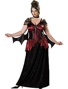 Vampira Plus Adult Costume by In Character Costumes