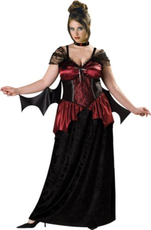 Vampira Plus Adult Costume