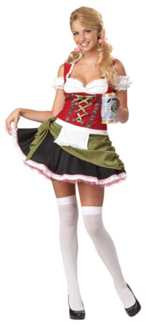 Bavarian Bar Maid Adult Plus Costume