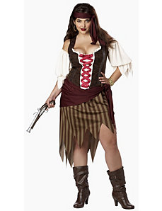 Buccaneer Beauty Adult Plus Costume by California Costumes
