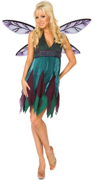 Midnight Dragon Fly Adult Plus Costume