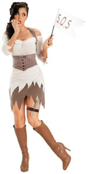 Ship Wreck Sweetie Adult Plus Costume