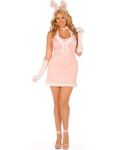 Playtime Bunny Plus Adult Costume by Elegant Moments