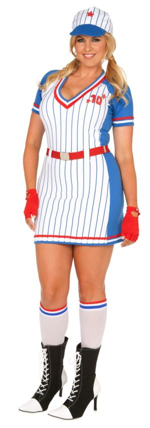 All American Player Plus Adult Costume