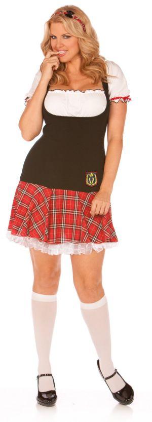 Frisky Freshman Plus Adult Costume