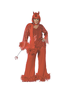 Red Hot Mama Plus Adult Costume by Paper Magic Group