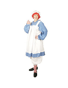 Raggedy Ann Adult Plus Costume by Morris