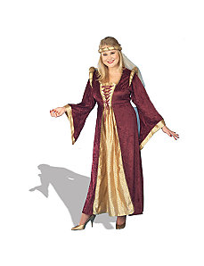 Renaissance Queen Plus  Adult Costume by Forum Novelties Inc