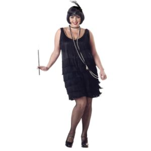Flapper Fashion (Black) Costume