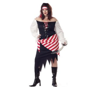 Ruby The Pirate Beauty Plus Adult Costume