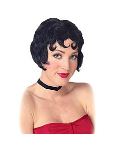 Be-Bop Wig (Black) by California Costume Collection