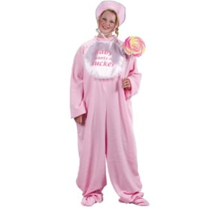 Be My Baby Jammies (Pink) Costume