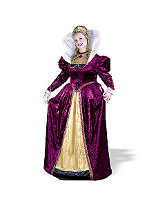 Elizabethian Queen Plus Adult Costume by Fun World