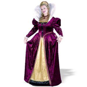 Elizabethian Queen Plus Adult Costume