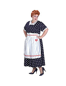 I Love Lucy Classic Plus Adult Costume by Fun World