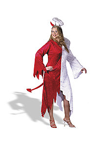 1/Buy2 Devil, 1/Buy2 Angel Plus Adult Costume by Fun World