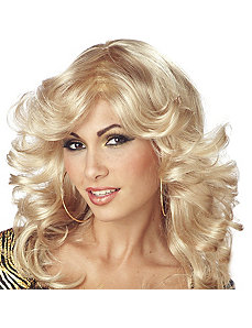 Discorama Mama Blonde Wig Adult by California Costume Collection