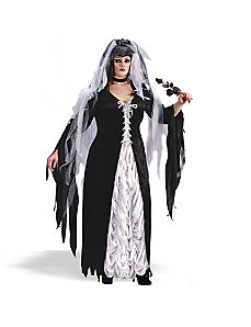 Coffin Bride Plus  Adult Costume by Fun World
