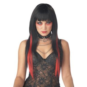 Chopstix (Black/Red) Wig