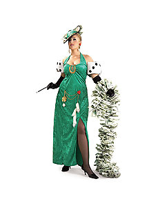 Lady Luck Plus  Adult by Rubie's Costume Co