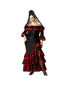 Senorita Plus Elite Collection Adult Costume by In Character Costumes