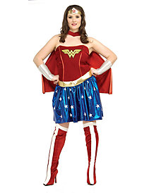 Wonder Woman Adult Plus by Rubie's Costume Co