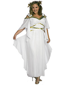 Roman Goddess Adult Plus Costume by Rubie's Costume Co