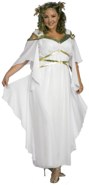 Roman Goddess Adult Plus Costume