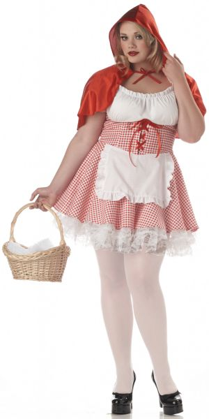Lacey Red Riding Hood Costume