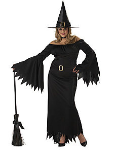 Elegant Witch Adult Plus Costume by California Costume Collection