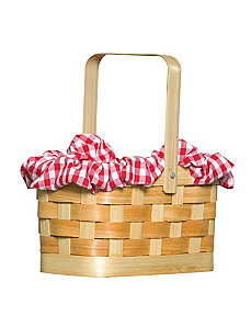 Gingham Basket by Rasta Imposta