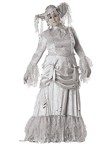 Ghostly Lady Elite Collection Adult Plus Costume by In Character Costumes