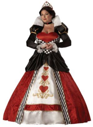 Queen of Hearts Elite Collection Costume