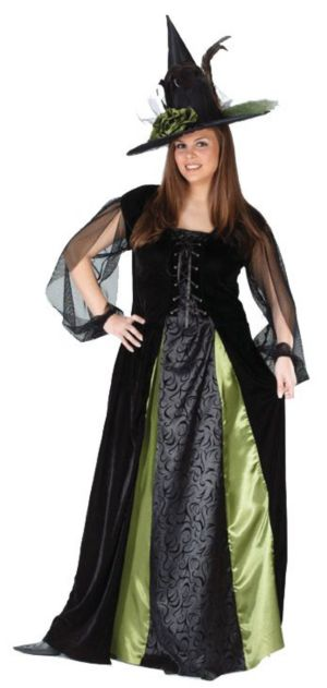Goth Maiden Witch Costume