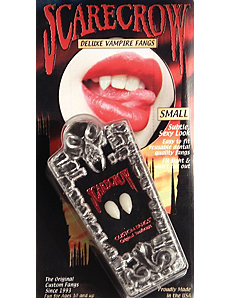 SMALL Realistic Deluxe Custom Fangs Box by Scarecrow Inc.