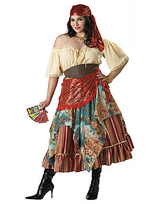 Fortune Teller Plus Elite Collection Adult Costume by In Character Costumes