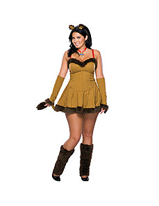 Cowardly Lion Adult Plus Costume by Rubie's Costume Co