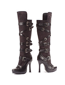 Bandit (Black) Adult Boots by ELLIE SHOES