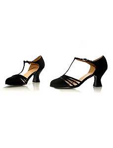Lucille (Black) Shoes by ELLIE SHOES