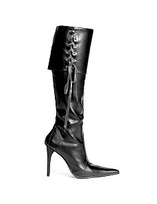 Penn (Black) Boots by ELLIE SHOES