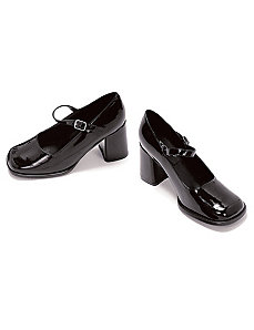 Eden (Black) Adult Shoes by ELLIE SHOES