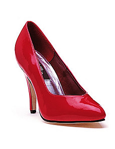 Red Pump Shoes by ELLIE SHOES