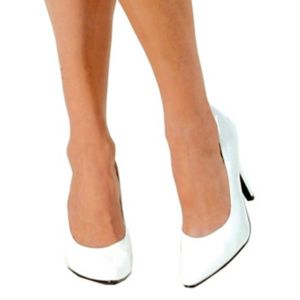 White Pump Adult Shoes - 6