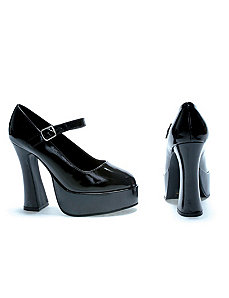 Sexy Eden Mary Jane (Black)  Shoes by ELLIE SHOES