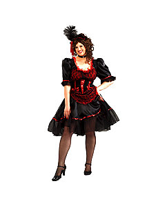 Saloon Girl Adult Plus Costume by Forum Novelties Inc