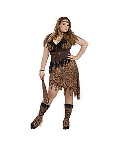 Cave Beauty Adult Plus Costume by Forum Novelties Inc
