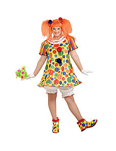 Giggles The Clown Adult Plus Costume by Forum Novelties Inc